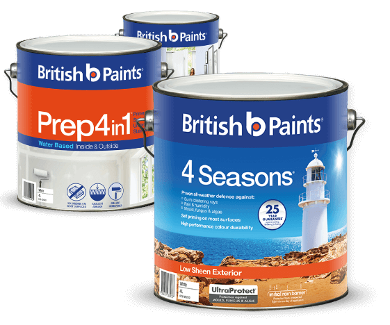 British Paints Colour Chart