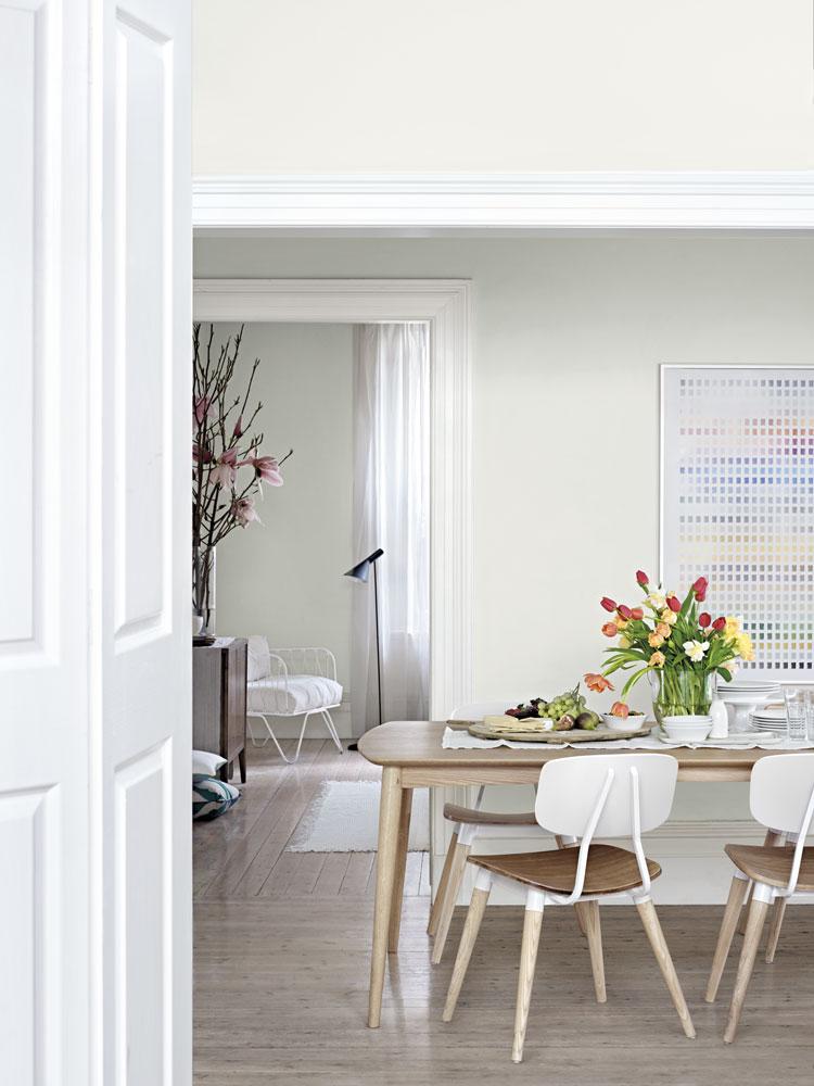 British Paints Love Note White Colour Chart Amp Palette