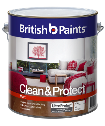 British Paints Clean And Protect Matt