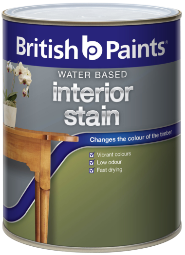 British Paints Water Based Interior Stain British Paints
