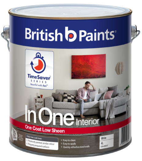 Calculating Paint Coverage Interior: British Paints Clean Protect Gloss