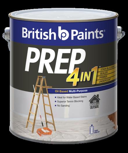 British Paints Prep 4in1 Oil Based