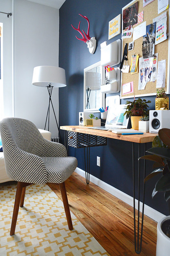 Wall Colours Combination: Tips/Colour Inspiration/How To Pair Navy Mustard