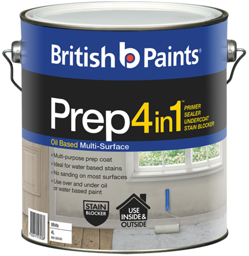 British Paints Prep 4in1 Oil Based