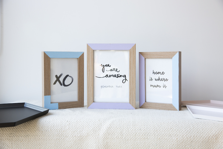 Tips/Diy projects/Diy frames - British Paints