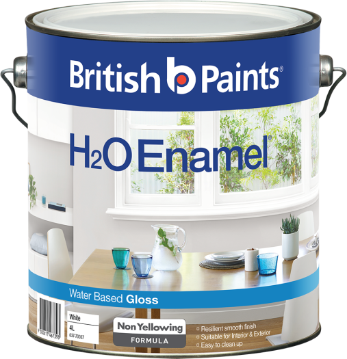 British Paints H2O Enamel Gloss