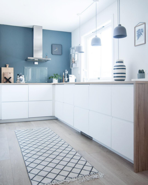 Embracing The Blue Kitchen: Tips/Colour Inspiration/2016 Summer Colour Trends