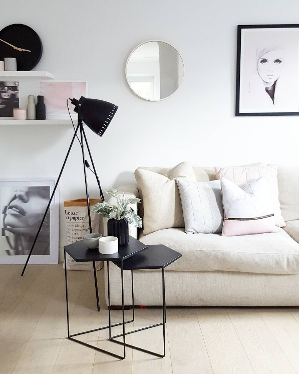 How to work the minimalist trend into your home using black