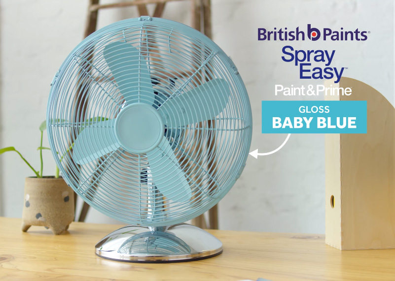 Spray Easy Retro Fan