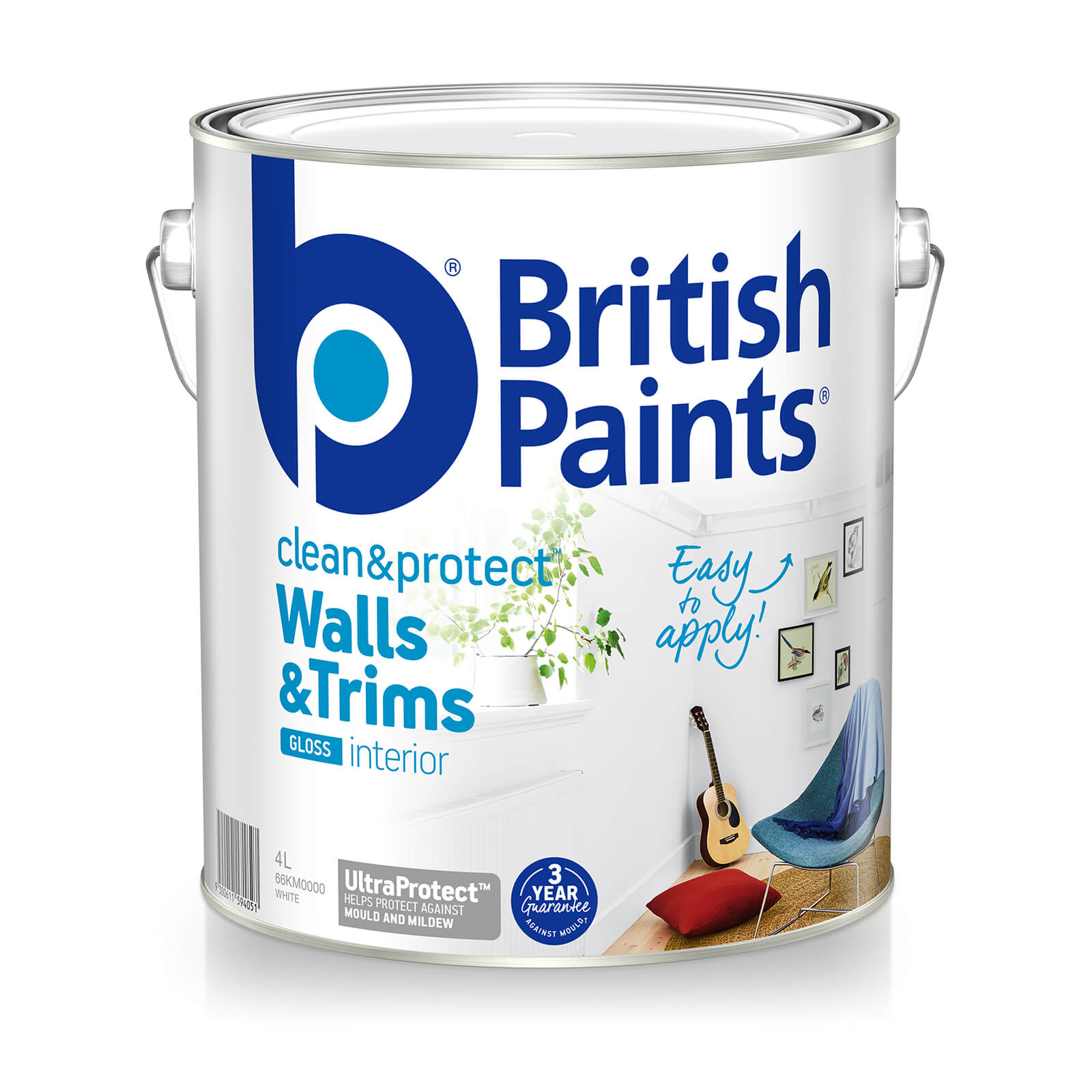 British Paints Clean And Protect Gloss