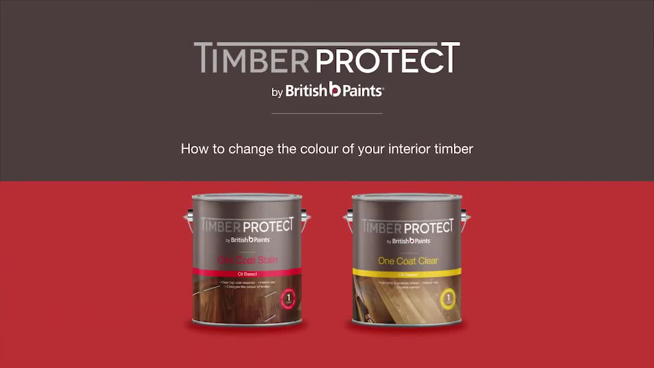 Changing colour of your interior timber