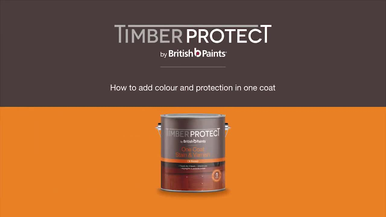 How to add colour & protection in one coat